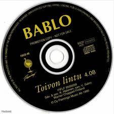 Bablo - Toivon lintu PROMO CDS (VG+/-) -pop rock- / CD: Rock / Pop ...