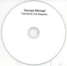 George Michael - Twentyfive Club Megamix PROMO CDS (VG