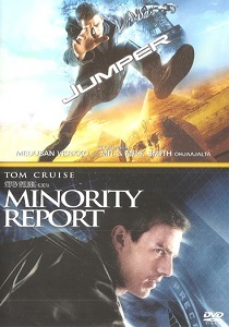 Jumper / Minority Report 2DVD (VG+/M-) -toiminta-