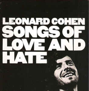 Leonard Cohen - Songs Of Love And Hate (remastered) CD (M-/M-) -folk rock-