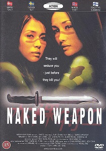 Naked Weapon DVD (M-/M-) -toiminta-