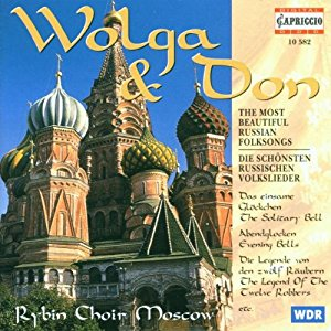 Rybin Choir Moscow - Volga & Don (The Most Beautiful Russian Folksongs) CD (M-/M-) -folk-