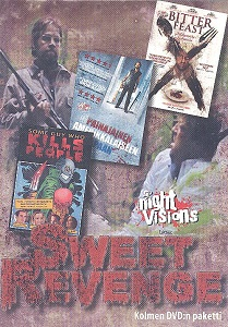 Sweet Revenge (Some Guy Who Kills People / Bitter Feast / Painajainen amerikkalaiseen tapaan) 3DVD (VG+/M-) -kauhu-
