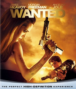 Wanted Blu-ray (M-/M-) -toiminta-