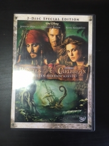 Pirates Of The Caribbean - Kuolleen miehen kirstu (special edition) 2DVD (VG+/M-) -seikkailu-