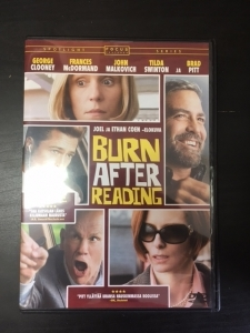 Burn After Reading DVD (M-/M-) -komedia-