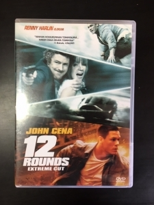 12 Rounds (extreme cut) DVD (VG+/M-) -toiminta-