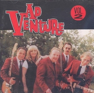 AdVenture - Vol.2 CD (VG+/M-) -rock n roll-