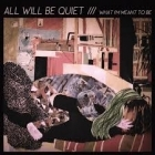 All Will Be Quiet - What I'm Meant To Be CDS (VG+/M-) -post-rock-