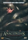 Anacondas - The Hunt For The Blood Orchid DVD (VG+/M-) -toiminta/kauhu-