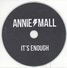 Annie Mall - It's Enough PROMO CDS (VG+/-) -stoner rock-