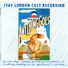 Anything Goes - 1989 London Cast Recording CD (M-/VG+) -musikaali-