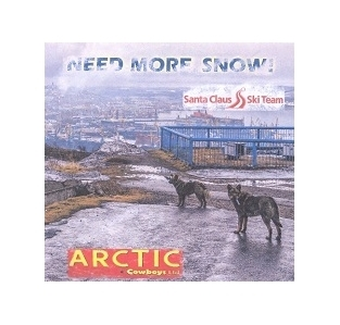 Arctic Cowboys Ltd - Need More Snow! CDS (VG+/M-) -pop rock-