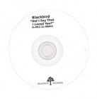Blackbird - Did I Say That I Loved You? PROMO CDS (VG+/-) -pop-