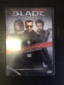 Blade Trinity (unrated version, special edition) 2DVD (M-/M-) -toiminta-