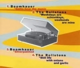Boomhauer / The Rollstons - Split CDEP (VG+/M-) -garage/indie rock-