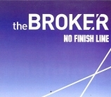 Broker - No Finish Line CDEP (VG+/VG+) -indie rock-