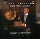 Cliff Adams Singers - Songs To Remember 2LP (VG+/VG+) -pop-