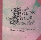 Color Dolor - What Is Left? PROMO CDS (VG+/VG+) -art rock-