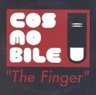 Cosmobile - The Finger CDS (VG+/VG+) -indie rock-