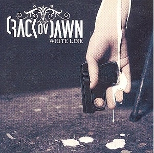 Crack Ov Dawn - White Line PROMO CD (VG/VG+) -industrial/gothic rock-