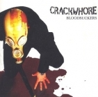 Crackwhore - Bloodsuckers CD (VG+/VG+) -garage punk-