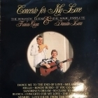 Francis Goya & Damian Luca - Concerto For My Love LP (VG+/VG+) -pop-