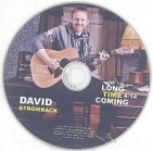 David Strömback - Long Time Coming CDS (VG+/-) -folk pop-