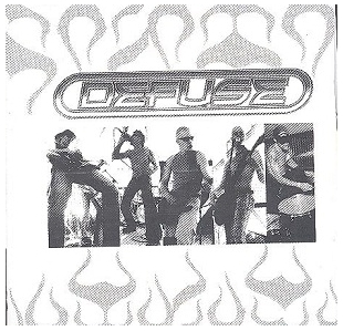 Defuse - Minus Ten Seconds CDEP (VG/VG+) -hard rock-
