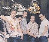 Dick Brave & The Backbeats - Walk This Way CDS (VG+/M-) -rockabilly-