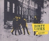 Dirty Licks - Misled Youth CDS (VG+/M-) -garage/hard rock-