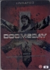Doomsday (unrated) (steelbook) DVD (M-/VG+) -toiminta-