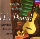 Eduardo Fernandez - La Danza (Guitar Music From Latin America) CD (VG+/M-) -klassinen-