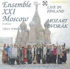Ensemble XXI Moscow - Mozart: Adagio And Fugue Kv.546 & Divertimenti Kv.136-138 / Dvorak: Serenade For Strings CD (M-/VG+) -klassinen-