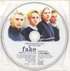 Fake - Kylmä PROMO CDS (VG+/-) -pop rock-