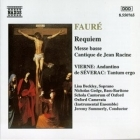 Faure - Requiem / Messe Basse / Cantique CD (VG+/M-) -klassinen-