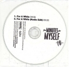 Five Minutes For Myself - For A While PROMO CDS (VG+/-) -indie rock-