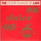 Floor Is Made Of Lava - All Juice No Fruit PROMO CD (VG+/M-) -indie rock-