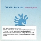 Forever Young - We Will Rock You PROMO CDS (VG+/VG+) -dance-