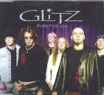 Glitz - Away From You CDS (M-/M-) -hard rock-