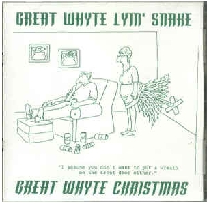 Great Whyte Lyin Snake - Great Whyte Christmas CDEP (VG+/M-) -punk rock/joululevy-