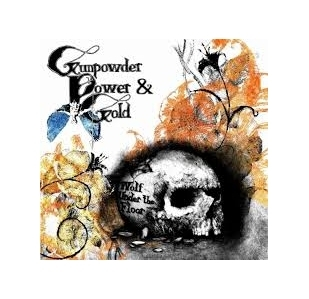 Gunpowder Power & Gold - Wolf Under The Floor PROMO CD (VG+/M-) -alt country-