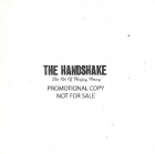 Handshake - The Art Of Playing Wrong PROMO CD (VG+/VG+) -punk rock-