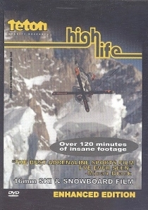 High Life - A 16mm Ski & Snowboard Film DVD (VG/M-) -laskettelu/lumilautailu- (R1 NTSC)