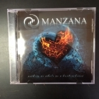 Manzana - Nothing As Whole As A Broken Heart CD (M-/M-) -alt metal-