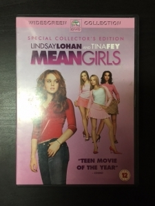 Mean Girls (collectors edition) DVD (VG/M-) -komedia-