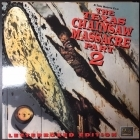 Texas Chansaw Massacre Part 2 LaserDisc (VG-VG+/M-) -kauhu-