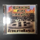 Burning Pipe Harmony - RevolutioNapalm CD (VG/M-) -hard rock-