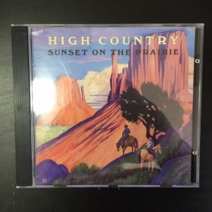 High Country - Sunset On The Prairie CD (VG+/M-) -bluegrass-