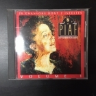 Edith Piaf - 25e Anniversaire (Volume 1) CD (VG/M-) -chanson-